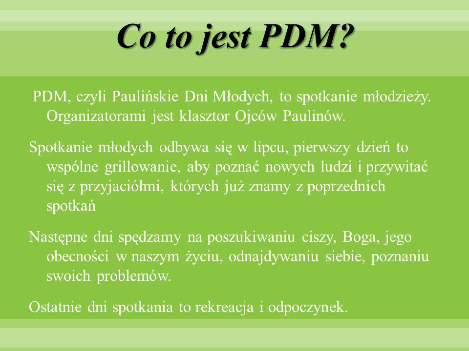 Co to jest PDM