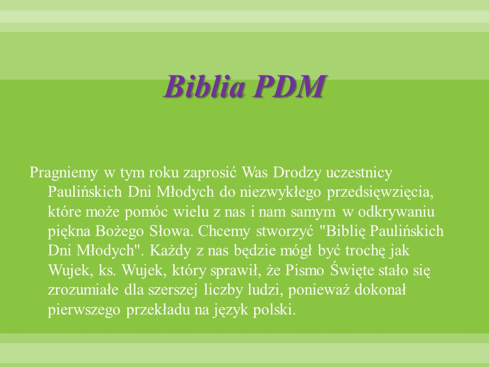 Biblia PDM