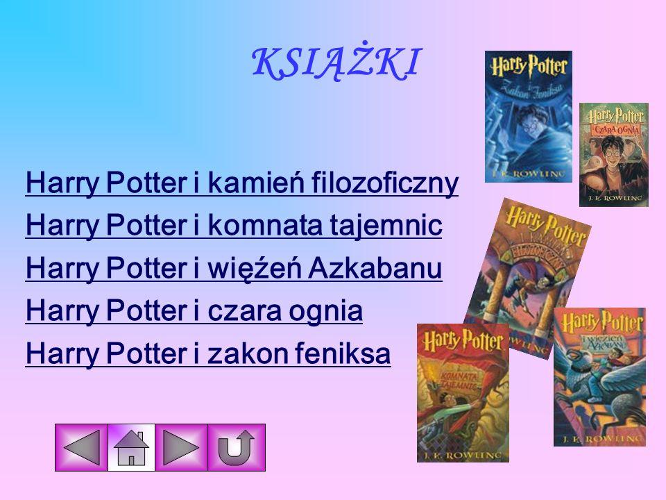 KSIĄŻKI Harry Potter i kamień filozoficzny
