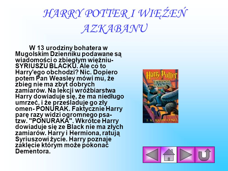 HARRY POTTER I WIĘŹEŃ AZKABANU