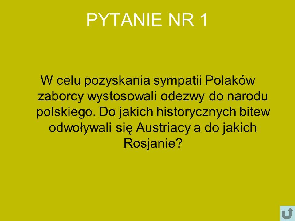 PYTANIE NR 1