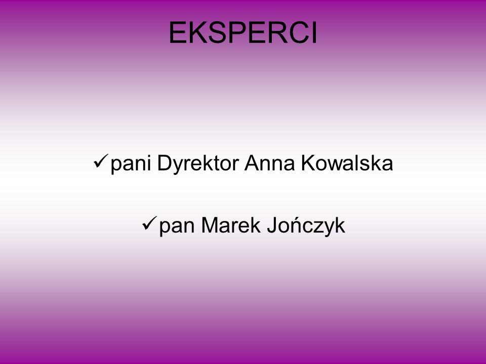 pani Dyrektor Anna Kowalska