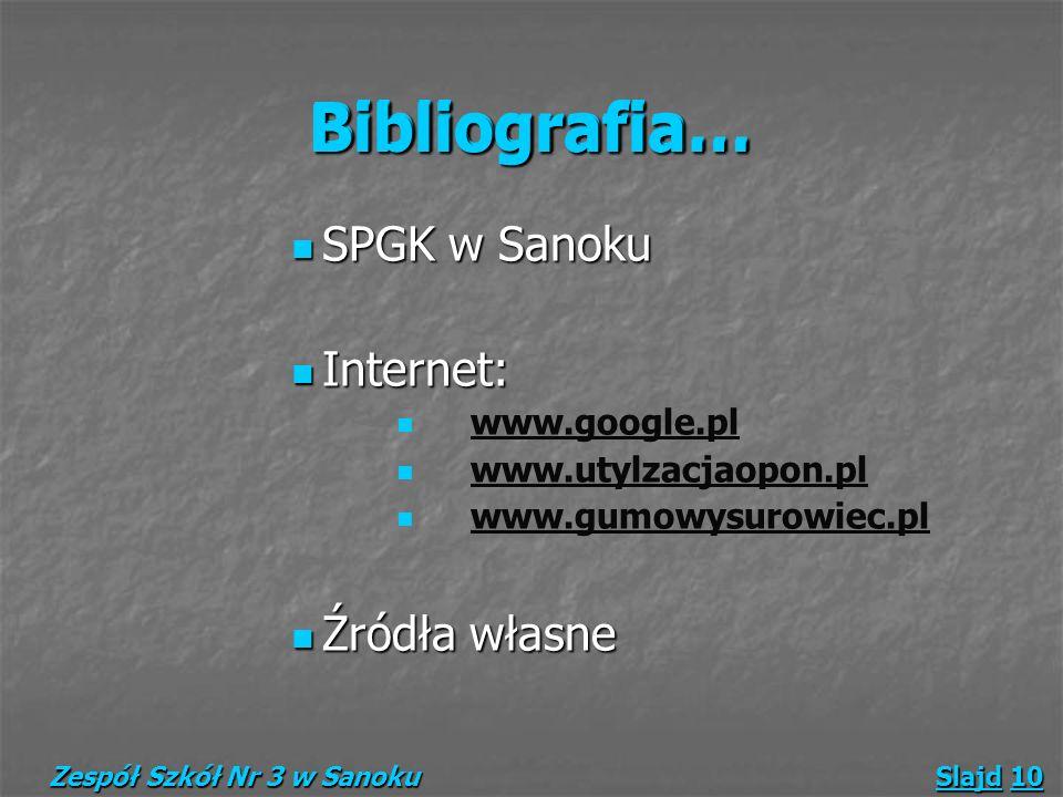 Bibliografia… Bibliografia…