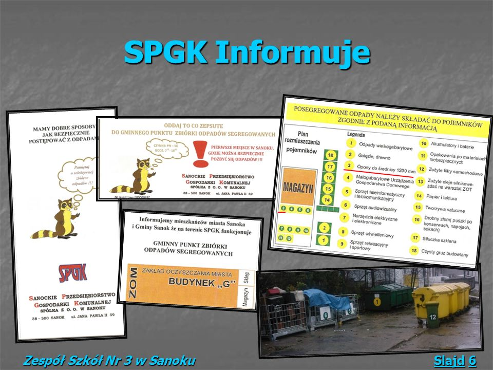 SPGK Informuje SPGK Informuje