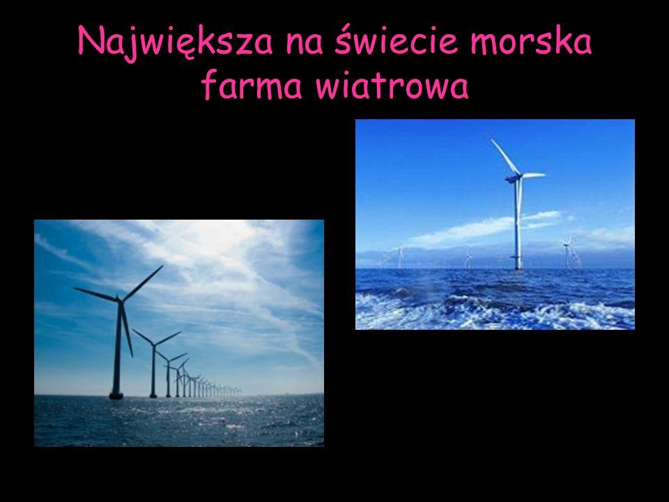 Największa na świecie morska farma wiatrowa