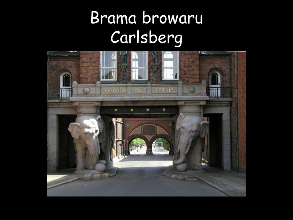Brama browaru Carlsberg