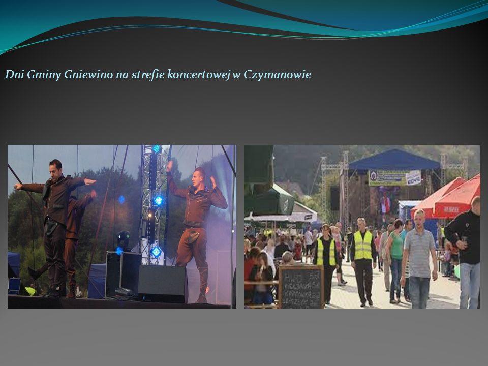 Dni Gminy Gniewino na strefie koncertowej w Czymanowie