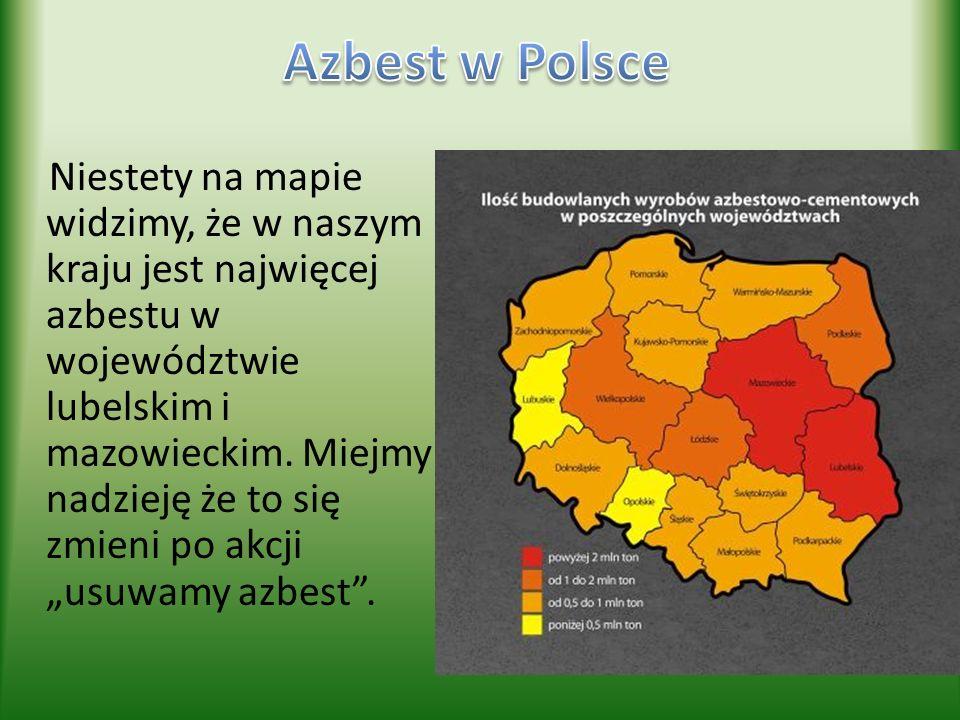 Azbest w Polsce