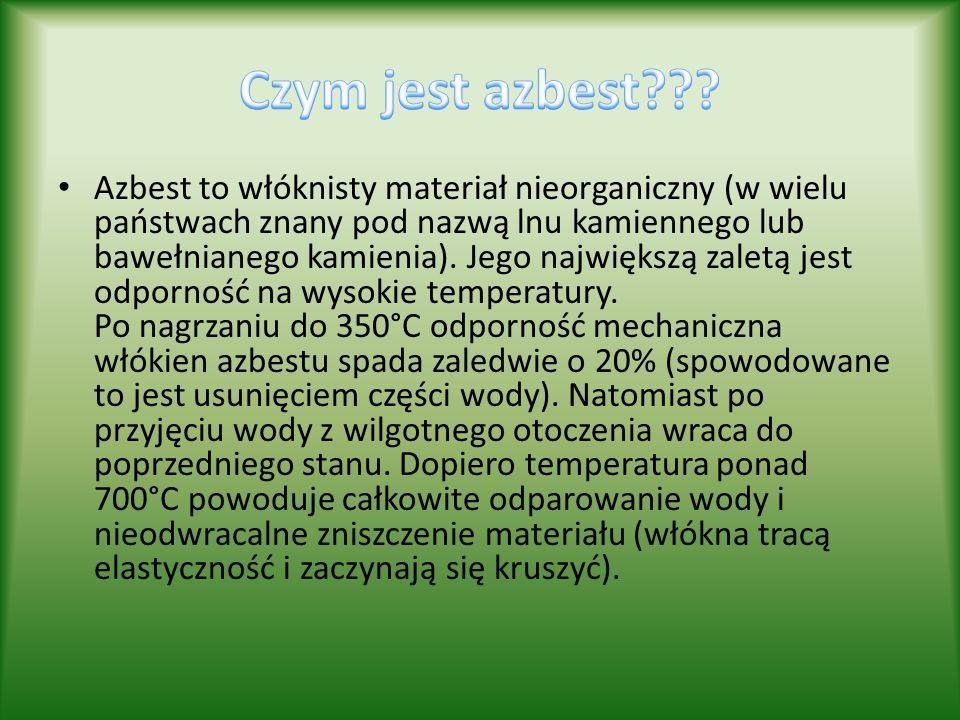 Czym jest azbest