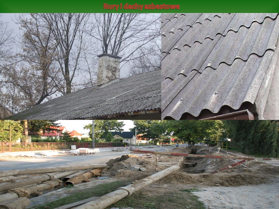 Rury i dachy azbestowe
