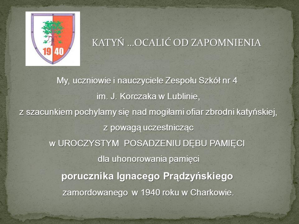 porucznika Ignacego Prądzyńskiego