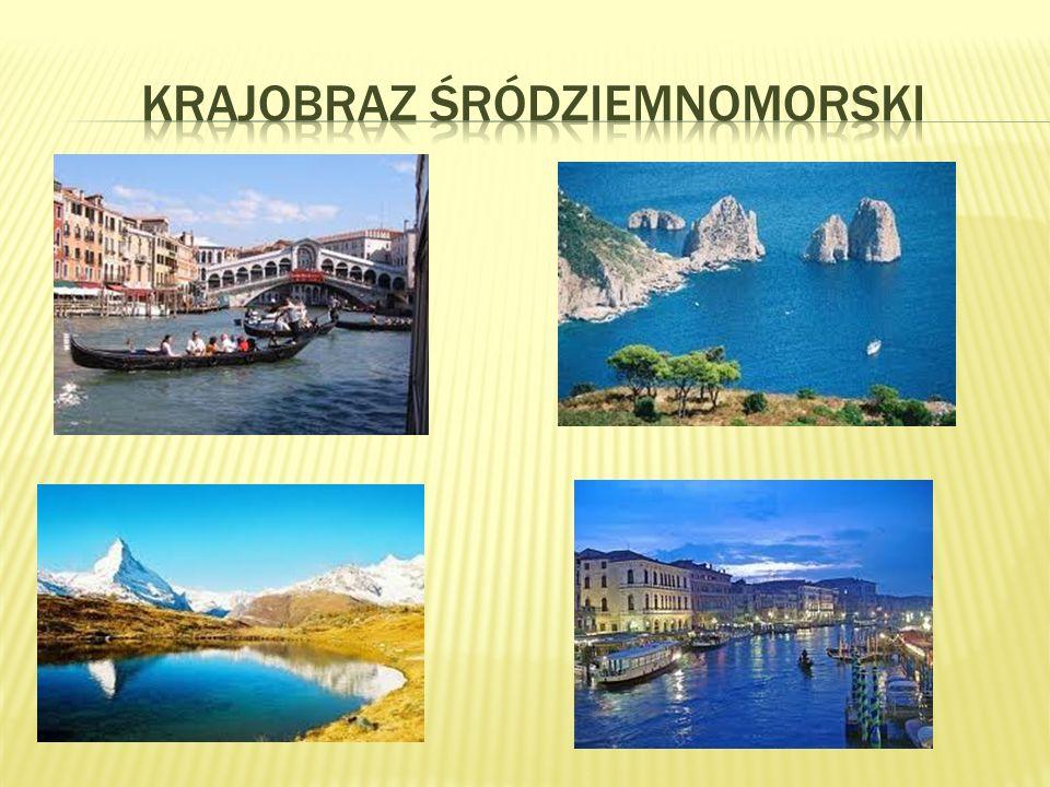 Krajobraz śródziemnomorski