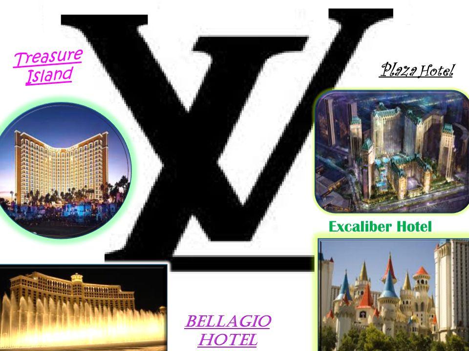 Treasure Island Plaza Hotel Excaliber Hotel Bellagio Hotel