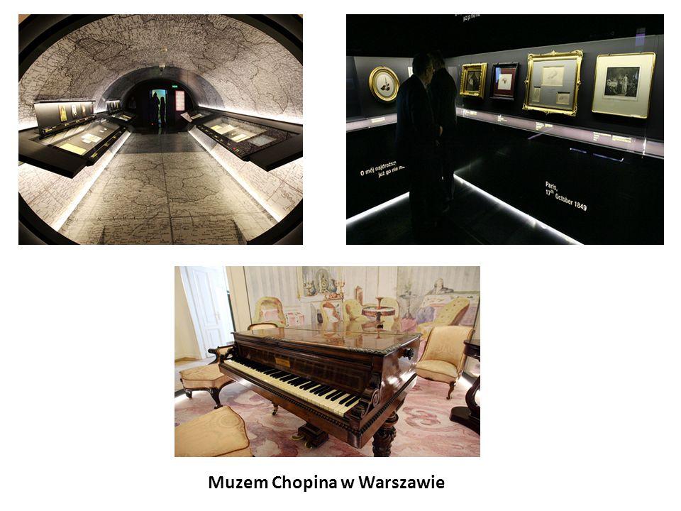 Muzem Chopina w Warszawie