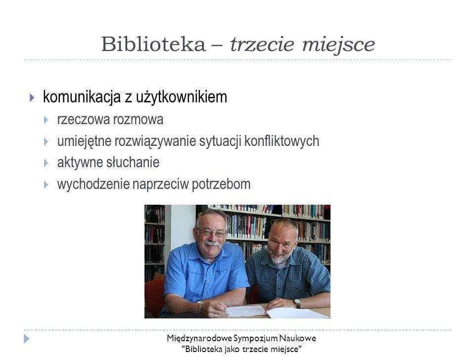 Biblioteka – trzecie miejsce