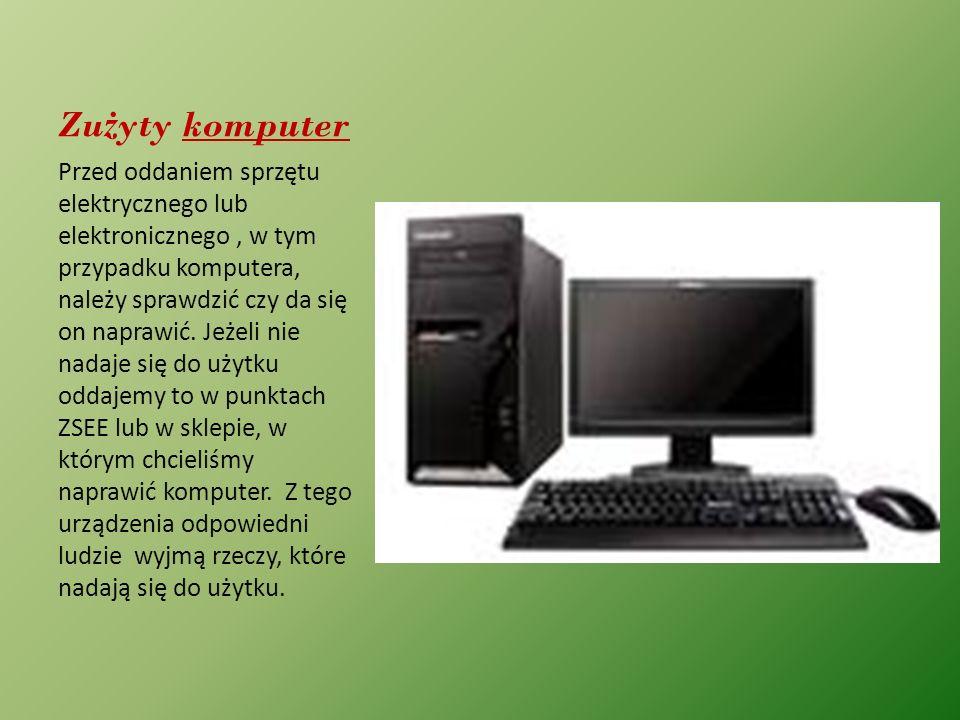 Zużyty komputer
