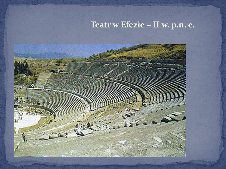 Teatr w Efezie – II w. p.n. e.