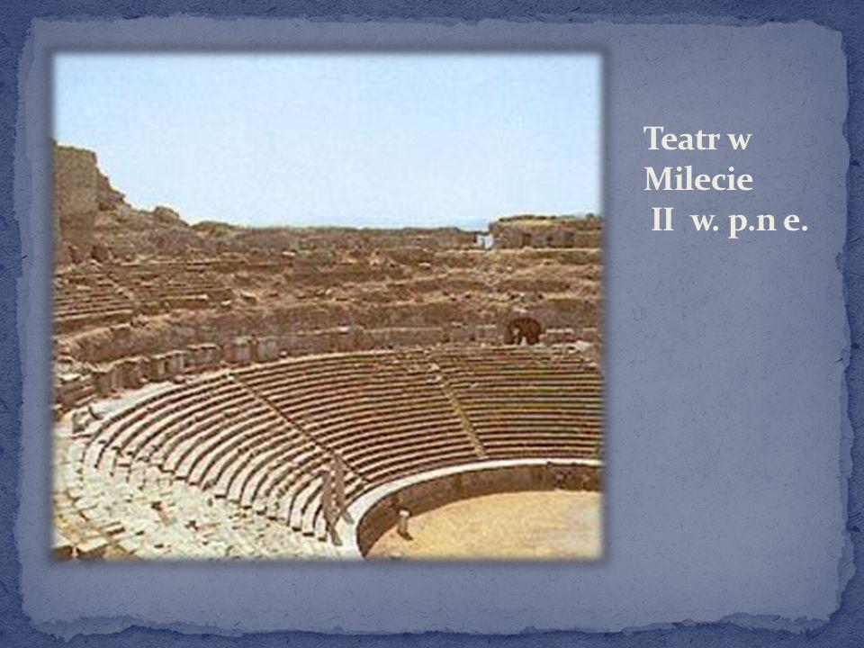 Teatr w Milecie II w. p.n e.