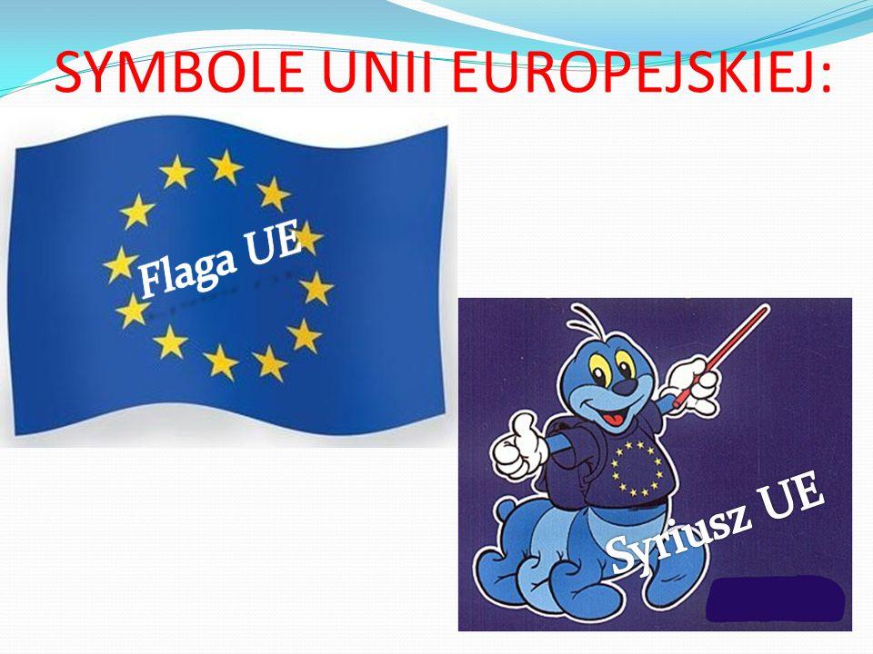 SYMBOLE UNII EUROPEJSKIEJ:
