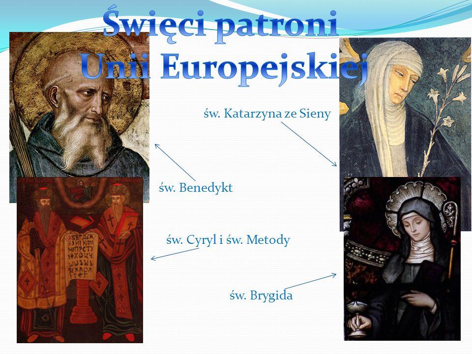 Święci patroni Unii Europejskiej