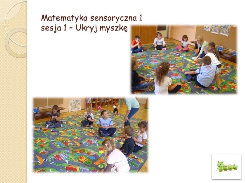 Matematyka sensoryczna 1 sesja 1 – Ukryj myszkę