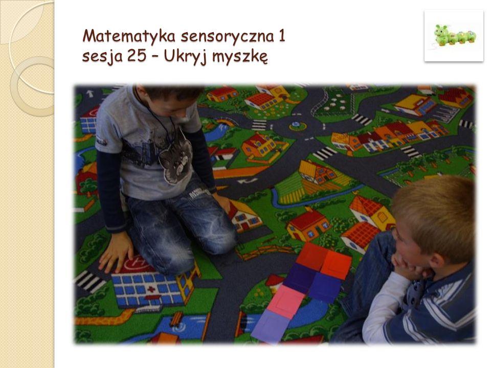 Matematyka sensoryczna 1 sesja 25 – Ukryj myszkę