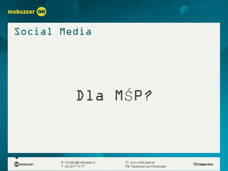 Social Media Dla MŚP.