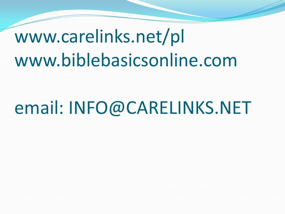 www. carelinks. net/pl www. biblebasicsonline
