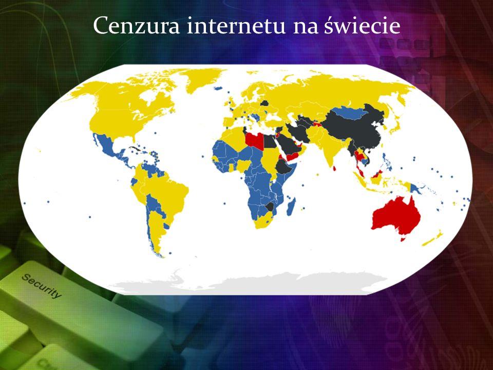 Cenzura internetu na świecie