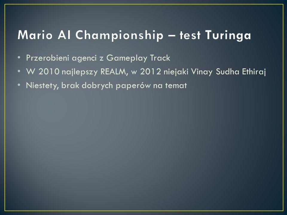 Mario AI Championship – test Turinga
