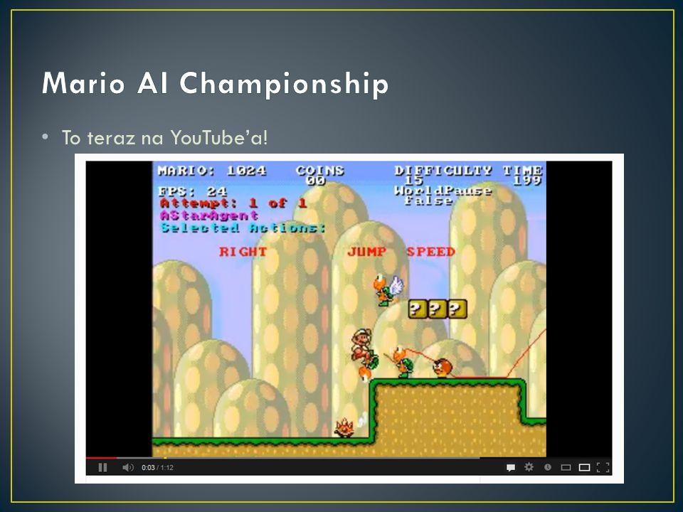 Mario AI Championship To teraz na YouTube'a!