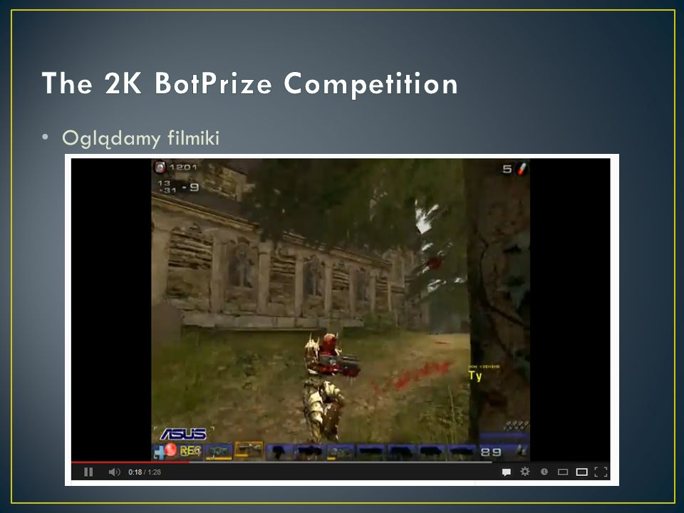 The 2K BotPrize Competition