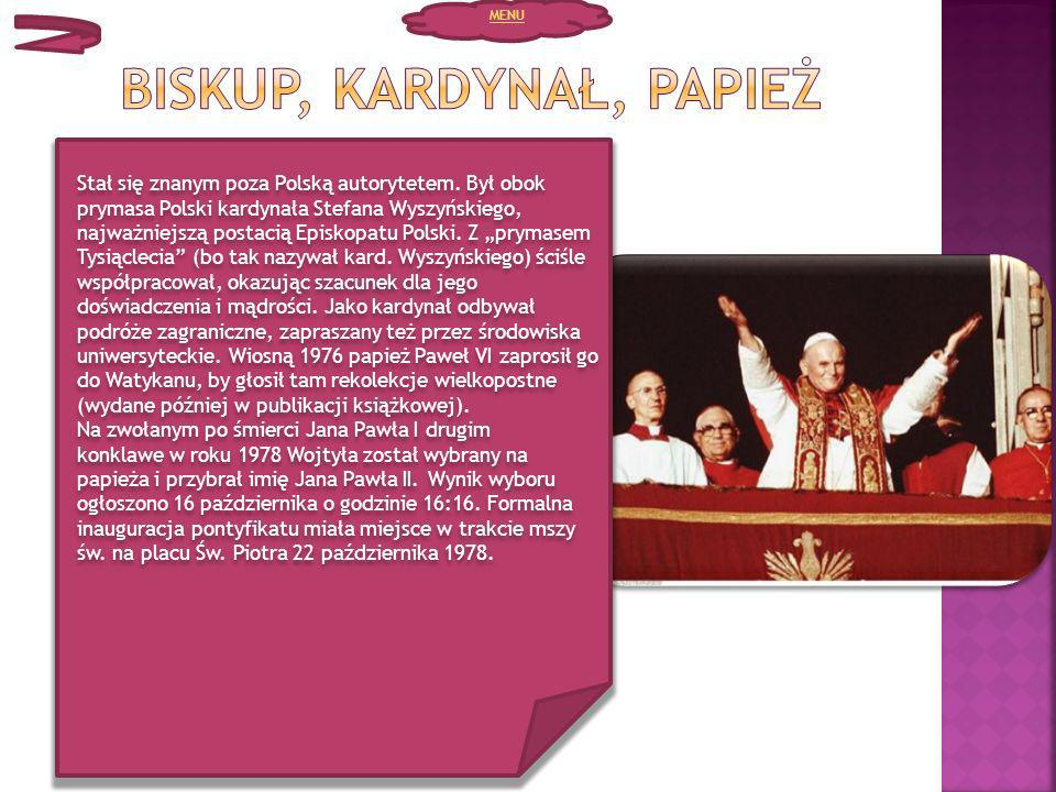 Biskup, kardynał, papież