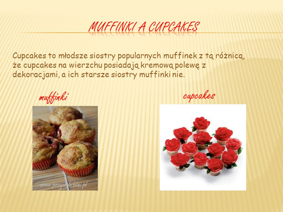 Muffinki a cupcakes cupcakes muffinki