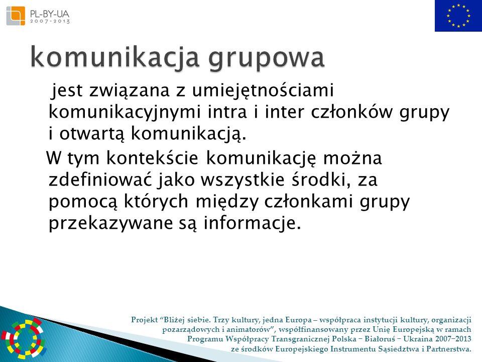 komunikacja grupowa