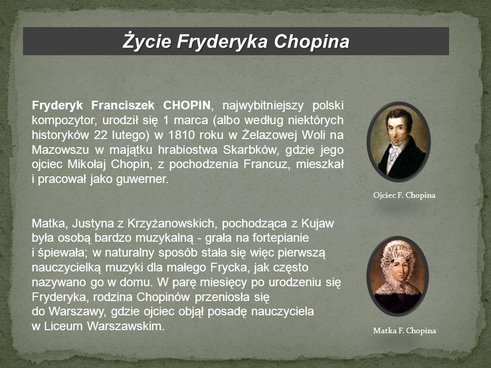 Życie Fryderyka Chopina