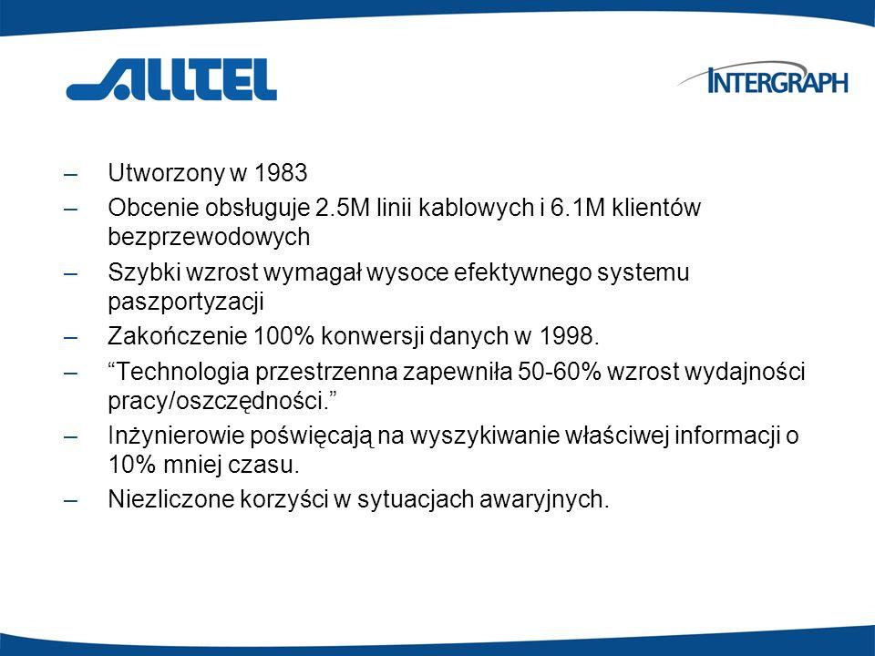 Utworzony w 1983 Obcenie obsługuje 2.5M linii kablowych i 6.1M klientów bezprzewodowych.