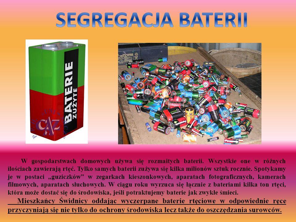 SEGREGACJA BATERII