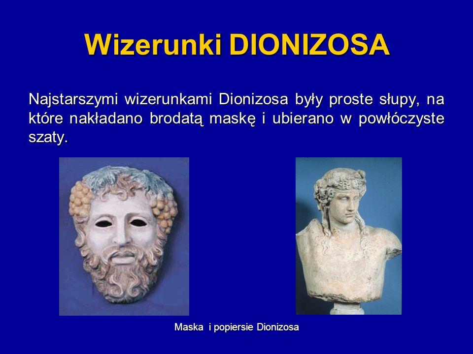 Maska i popiersie Dionizosa