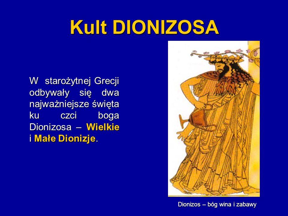 Dionizos – bóg wina i zabawy