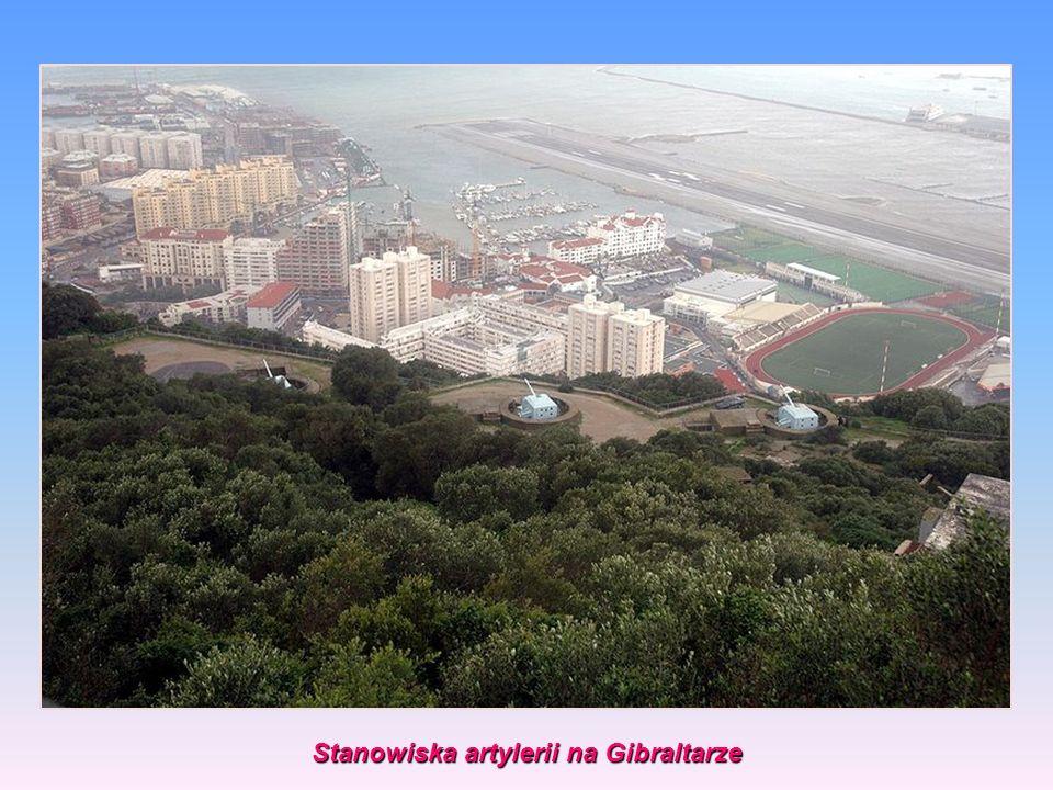 Stanowiska artylerii na Gibraltarze