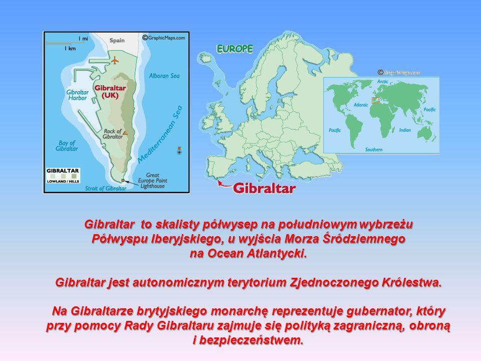 Gibraltar to skalisty półwysep na południowym wybrzeżu