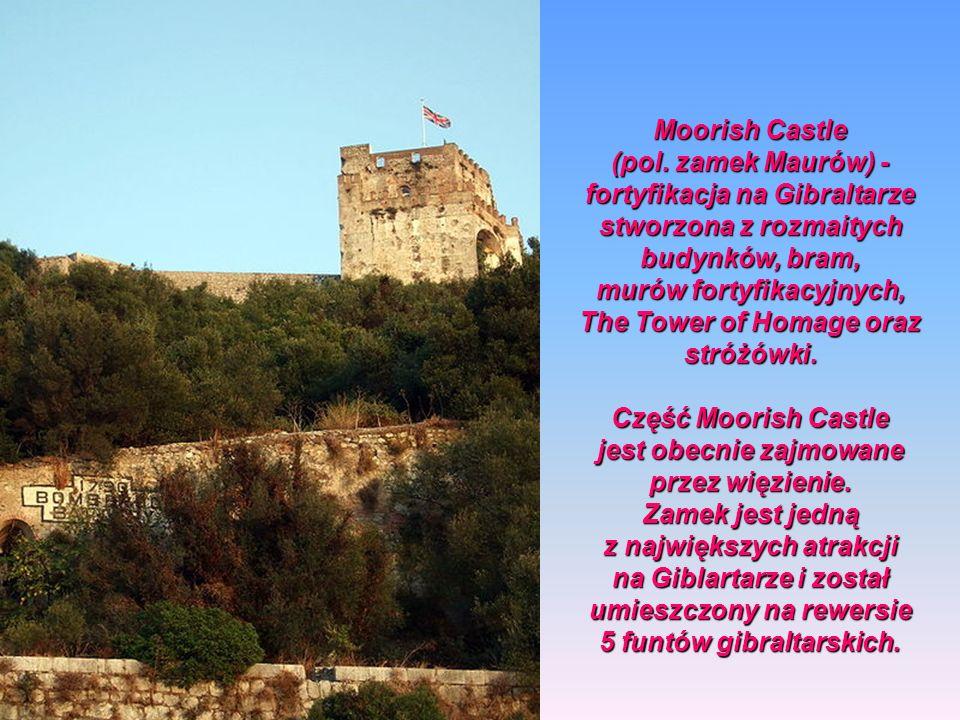 murów fortyfikacyjnych, The Tower of Homage oraz stróżówki.