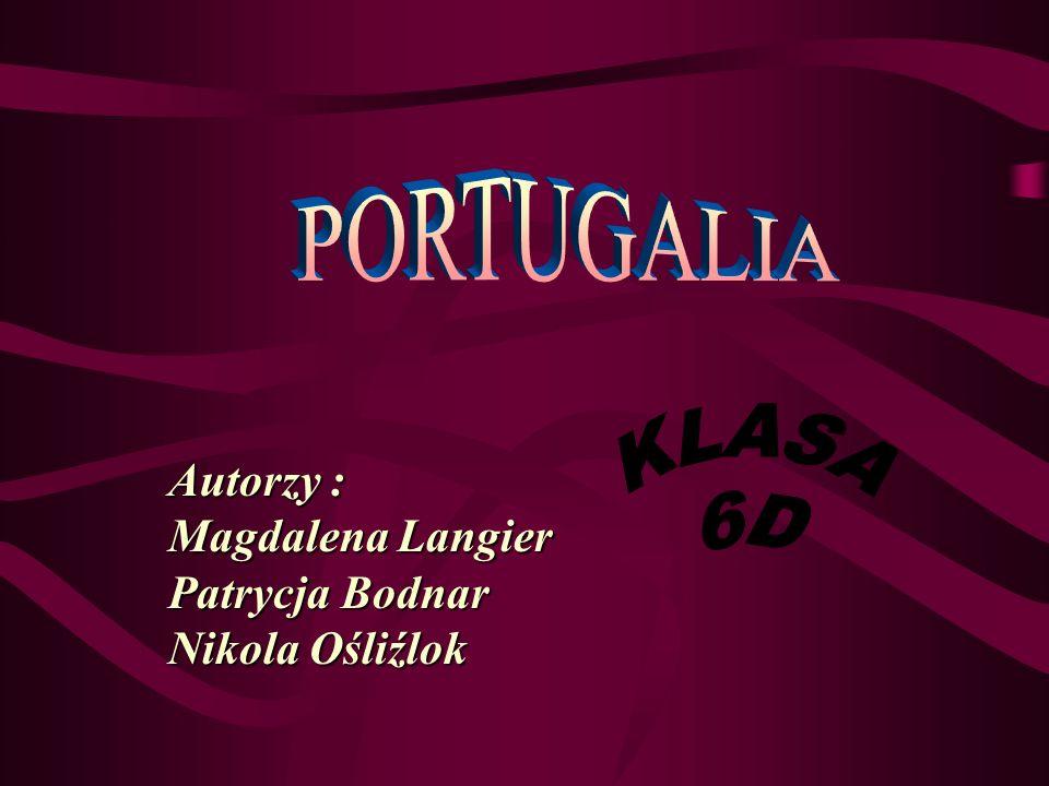 Autorzy : Magdalena Langier Patrycja Bodnar Nikola Ośliźlok