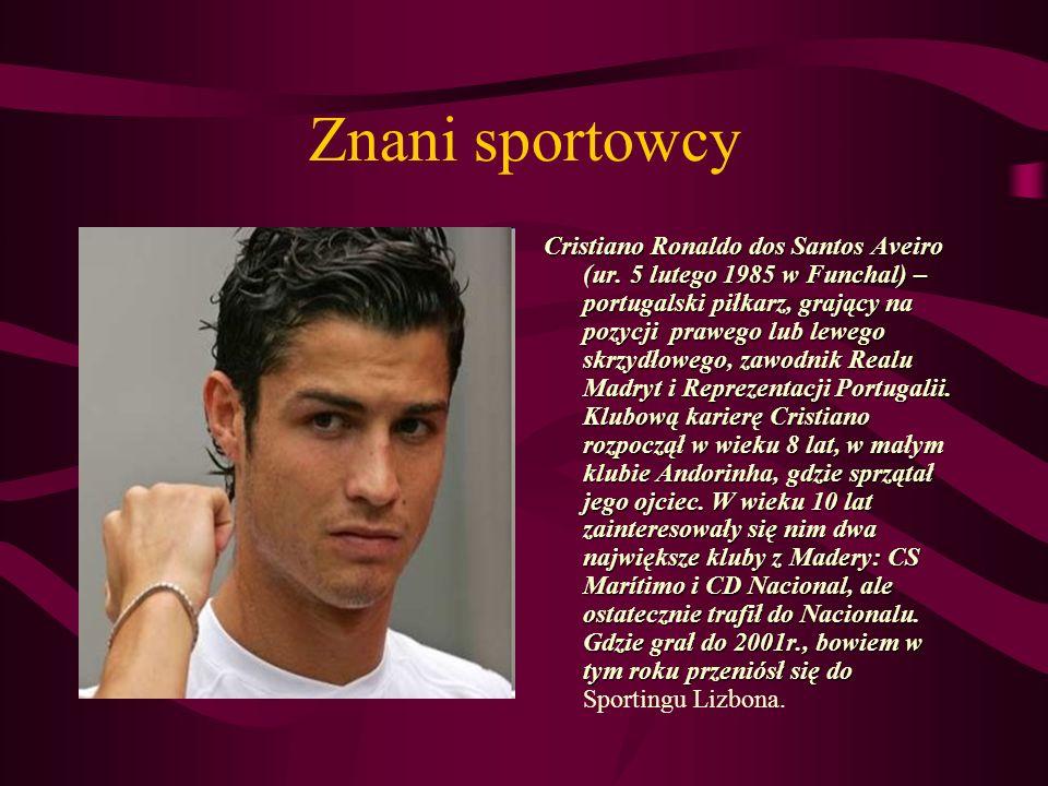 Znani sportowcy