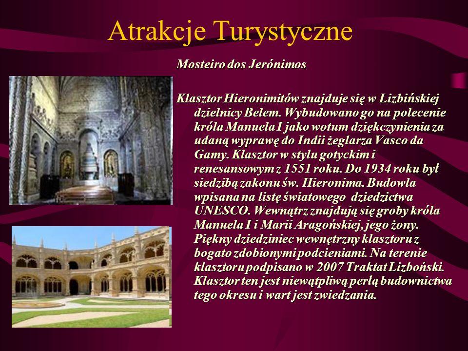 Atrakcje Turystyczne Mosteiro dos Jerónimos