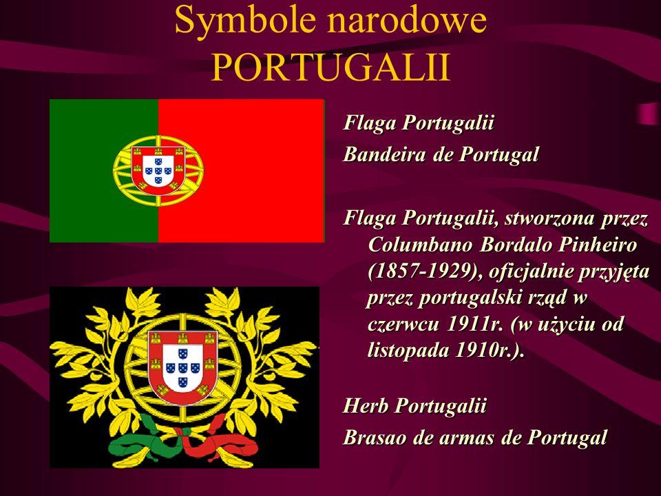 Symbole narodowe PORTUGALII