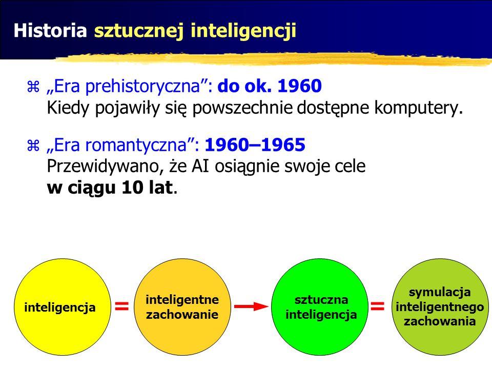 Historia sztucznej inteligencji