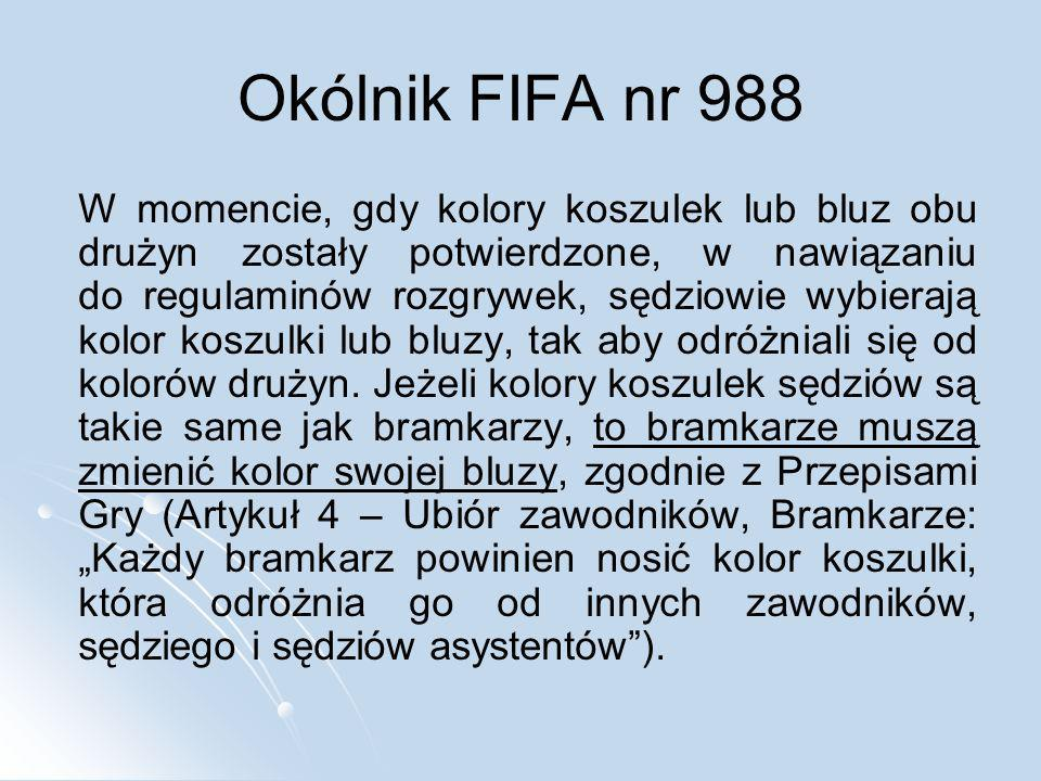 Okólnik FIFA nr 988