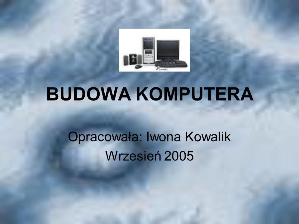 Opracowała: Iwona Kowalik Wrzesień 2005